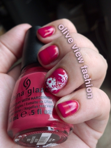 "China Glaze ""Make an Entrance"" and ""Passion for Petals"""